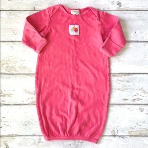 Carters Sleep Sack Gown Baby Girl OS Pink 0-3m
